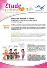 parents immigrés étude UNAF