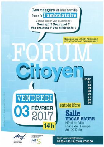 Forum citoyen URAF Bourgogne Franche-Comté