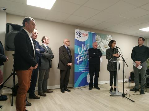 Eric LANCON, Denis SOMMER, Claude LE QUERÉ, Jacky HAUTIER, Gérard CARRÉ, Marie-Noëlle BIGUINET, Christophe MARICHIAL