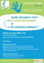 Conférence débat solidarité aide