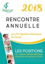 Politique Familiale - Les positions de l'UDAF du Doubs 2018